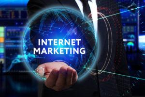 Internet marketing orb.